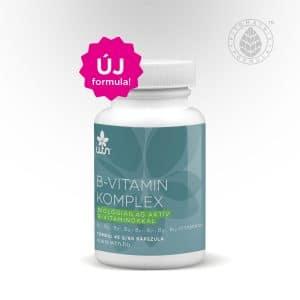 A képen a Wise Tree Naturals B-vitamin komplex készítménye látható.