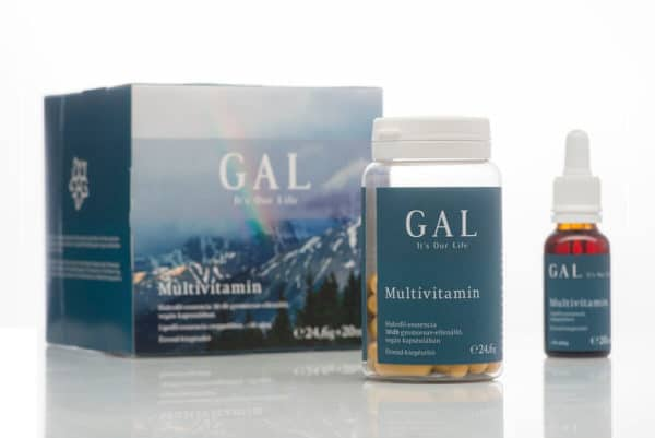 A képen a GAL mutivitamin készítménye látható.
