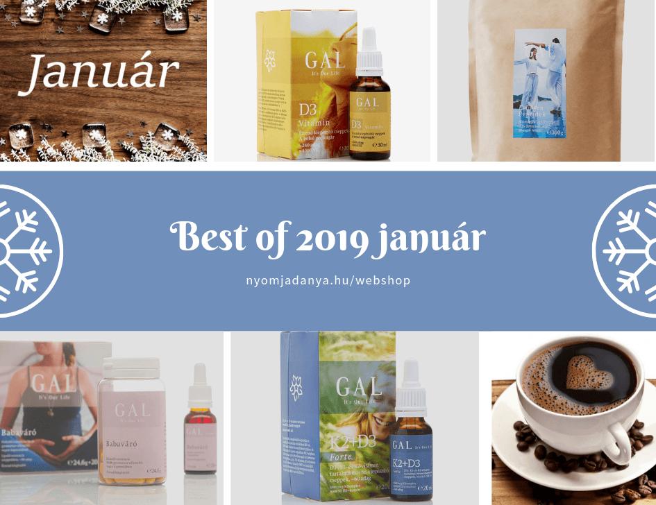 NyomjadAnya - Ezeket szerettétek legjobban 2019 januárban