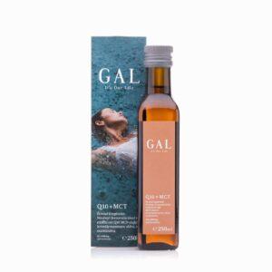 A GAL Q10 + MCT olaj látható a képen.